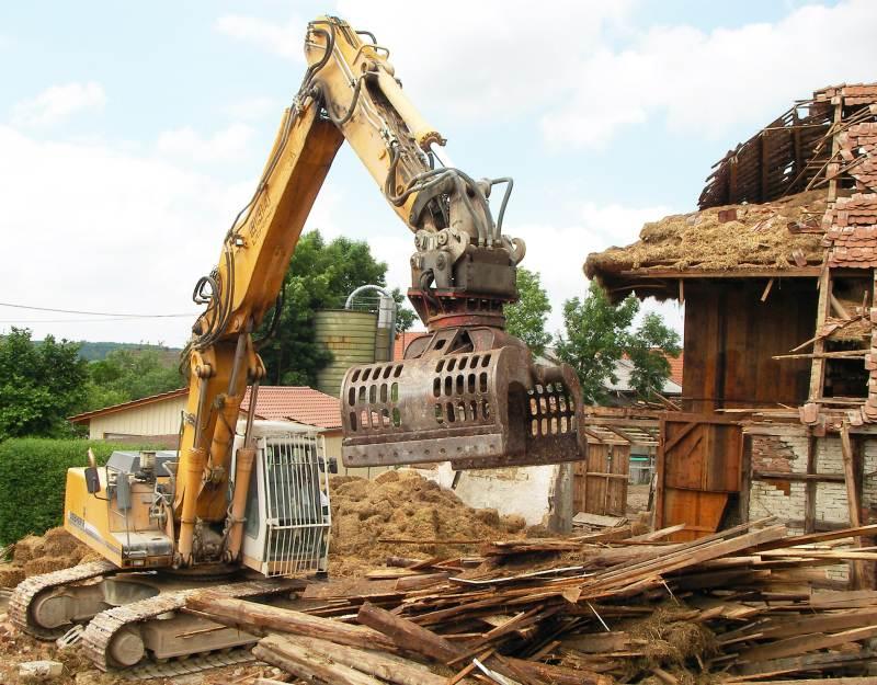 Abbruch landwirtschaftliches Gebäude